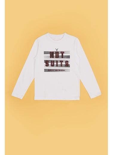 Nebbati Erkek Çocuk Ekru T-Shirt 20Fw0Nb3522 Ekru
